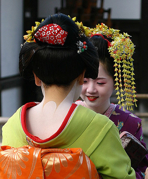 Geishas in Kyoto - Photo Daniel Bachler